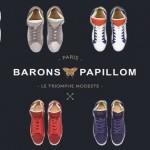 Barons Papillom, les sneakers français haut de gamme