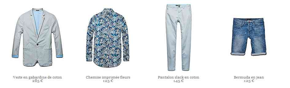 colletction printemps-été 2014 Ikks Men