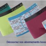Men's kit présente l'original abonnement boxer ou chaussettes à volonté