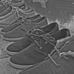 Test sneaker Mascaret Gaby vintage rust