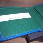 Portefeuille personnalisable Gaston & Lucien, la maroquinerie du terroir
