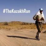 #TheKazakhRun, l'ultra-marathon de Jamie Bunchuk