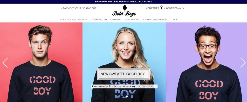 collection automne-hiver 2014 de Bold Boys