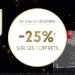 Bon plan Galeries Lafayette sur les parfums et coffrets parfums