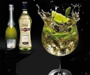 cocktails effervescents Martini