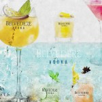 Cocktails Belvedere Vodka été 2015