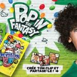 Crée ton clip avec Mentos Pop Ins