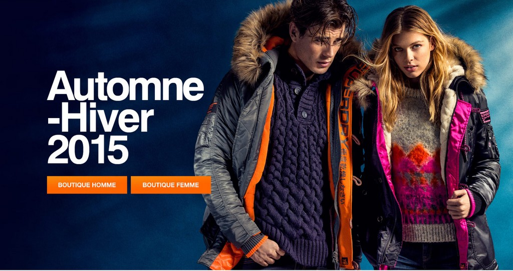 Superdry automne-hiver 2015