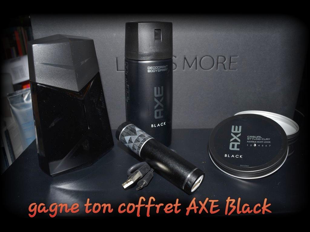 Coffrets AXE Black