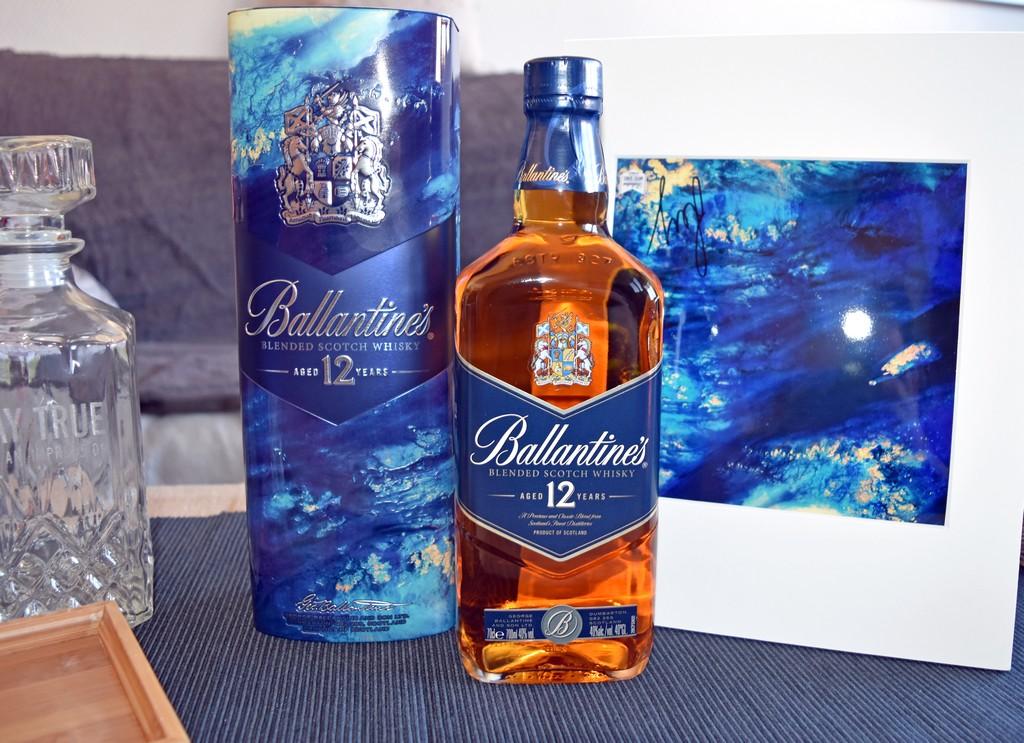 Edition limitée Ballantine's 12 ans X  Leif Podhajsky