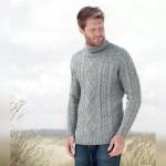 paré pour affronter le froid avec un pull Wool Overs