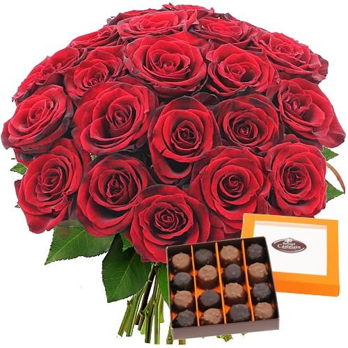 Des fleurs pour la saint valentin avec florajet for Bouquet saint valentin