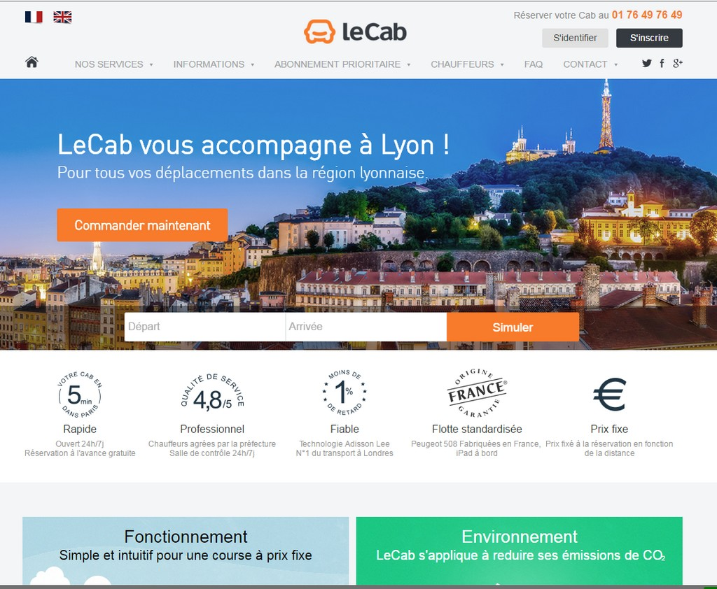 Les VTC, une alternative aux taxis