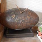 [Idée Cadeau] Horloge Ballon de rugby Interior's
