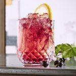 Cocktail Syndicassis à la crème de cassis Joseph Cartron