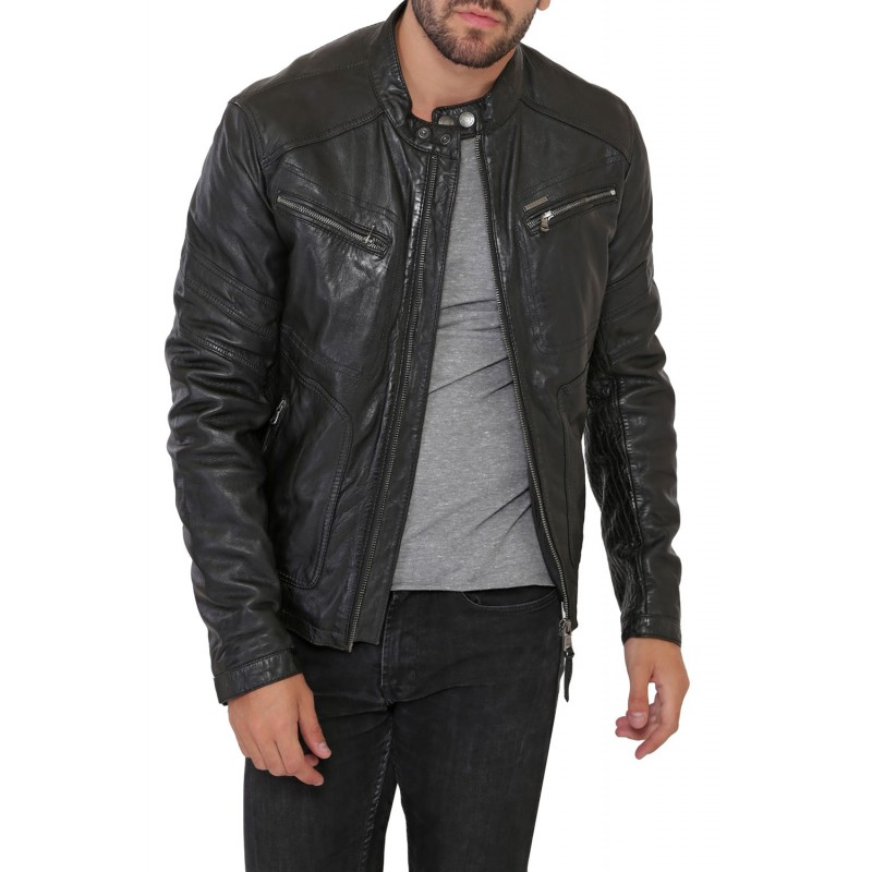 guide comment bien choisir son blouson ou sa veste en cuir. Black Bedroom Furniture Sets. Home Design Ideas