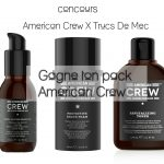 [Concours Inside] Remporte ton pack American Crew (3 gagnants) (terminé)