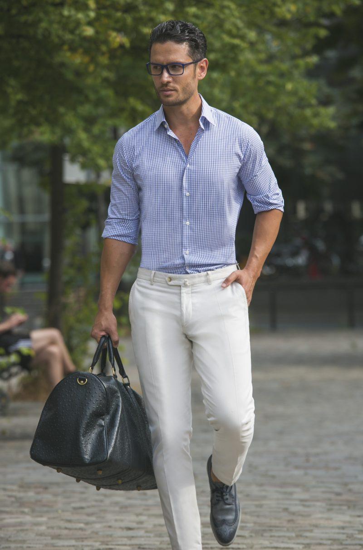 nouveau style de vie rechercher le meilleur original de premier ordre Porter le costume en été : choisir un modèle en tissu léger ...
