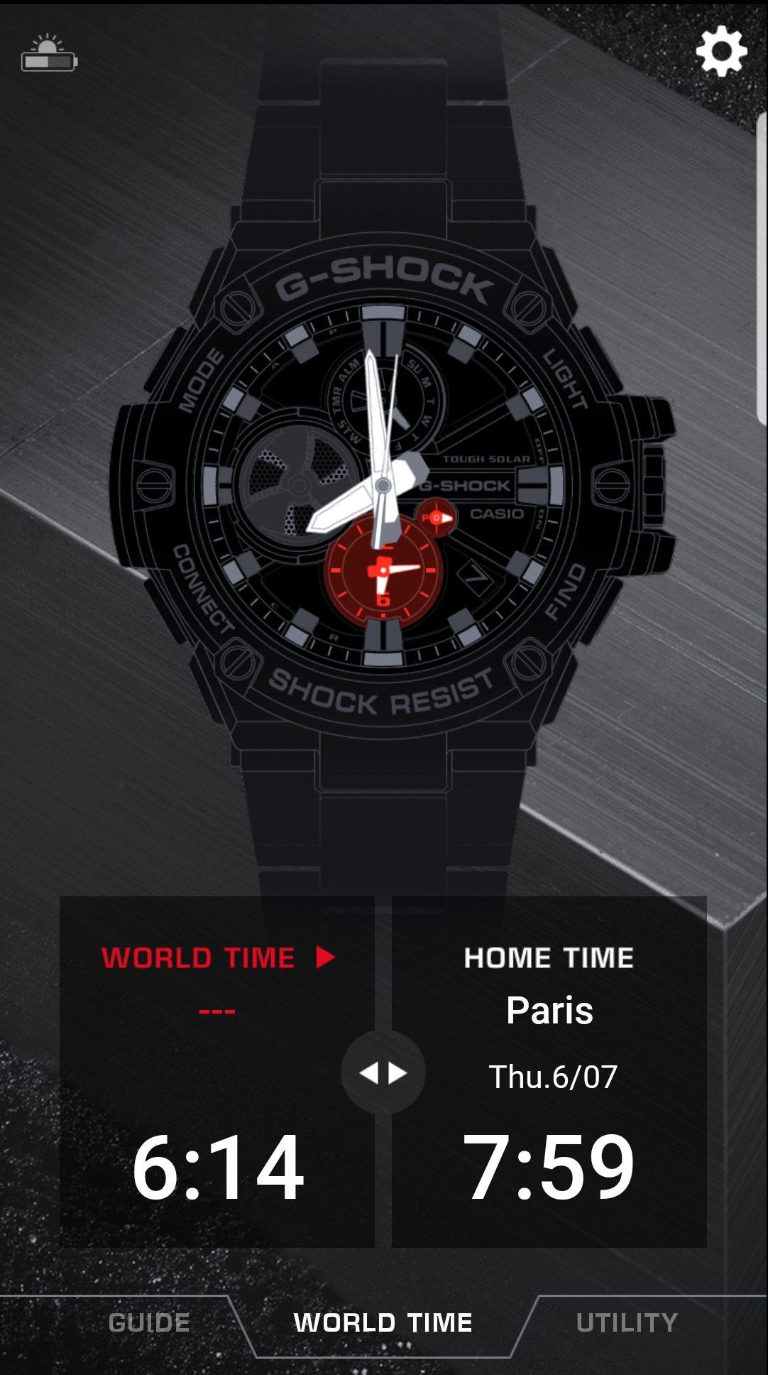 Montre Casio G Shock GST B100 1AER, test & avis
